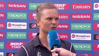 15 July, Derby - New Zealand - Suzie Bates Post match Press Conference