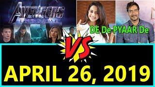 Avengers End Game Vs De De Pyaar De Clash On April 2019
