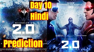 2Point0 Movie Box Office Prediction Day 10 For Hindi Version