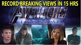 Avengers End Game Trailer Breaks All Record On Youtube In 15 Hours I It Will Cross 50 Millon In 24Hr