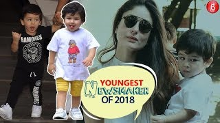 Taimur Ali Khan listed in 2018s Biggest Newsmakers, here is a Compilation of his Cutest Moments