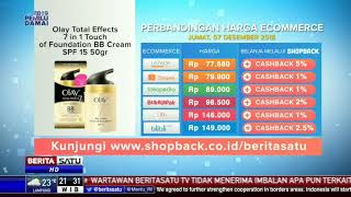 Perbandingan Harga E-Commerce: Olay Total Effects
