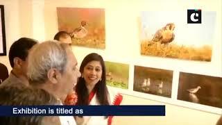 CM Naveen Patnaik inaugurates 'Magic of Mangalajodi' exhibition in Bhubaneswar