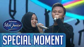 Hangatnya mendengar duet Kakak Beradik ini! - ROAD TO GRAND FINAL - Indonesian Idol Junior 2018