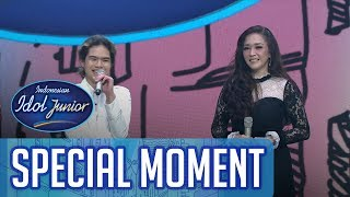Dul Jaelani menyanyikan lagu untuk Bunda Maia - ROAD TO GRAND FINAL - Indonesian Idol Junior 2018