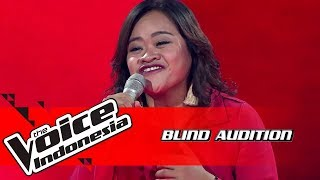 Rena - Put Your Records On    Blind Auditions   The Voice Indonesia GTV 2018