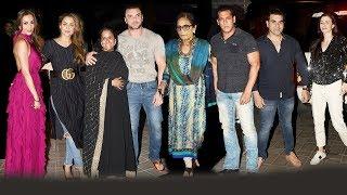 Salman Khan's Grand Birthday Party For Mother Salma Khan
