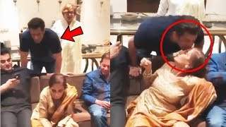 Salman Khans Heart Melting Moment With Mom Salma Khan | 73rd Birthday Celebration