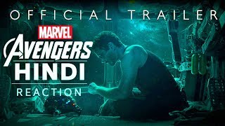 AVENGERS 4: Endgame Hindi Trailer (Reaction) | Baklol Bunny