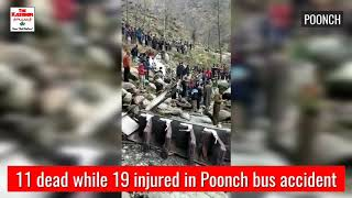 11 dead while 19 injured in Poonch bus accident