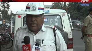 Jamnagar : Complimentary performance of the traffic staff