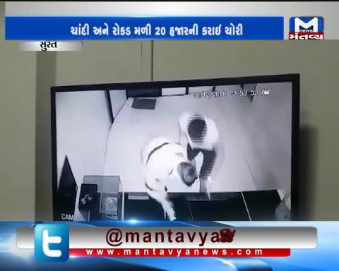 Surat: Thieves have robbed a Jewelry Shop at Sachin GIDC