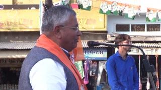 लाइव-पाली विधानसभा प्रत्याशी श्री ज्ञानचंद पारख के साथ मिलगेट पर चुनावी सभा से।