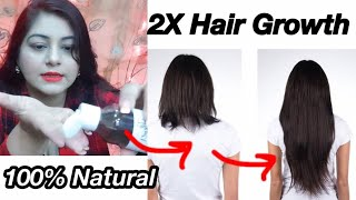 How to grow Long Thick Hair Fast - DIY Hair Growth Serum | JSuper kaur