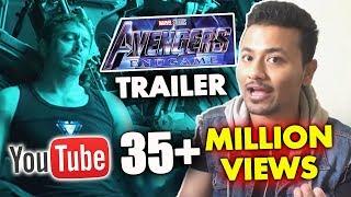 AVENGERS 4 ENDGAME Trailer Creates Record - 35+ MILLION VIEWS