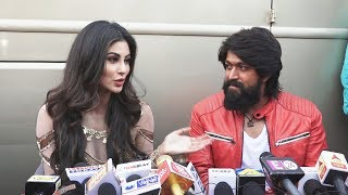 KGF Star Yash And Mouni Roy Interview On ITEM SONG | Kolar Gold Fields