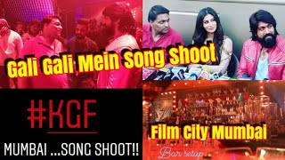 KGF Hindi Song Gali Gali Mein Firta Hai Tu Shooting Started In Mumbai l Yash And Mouni Look Amazing