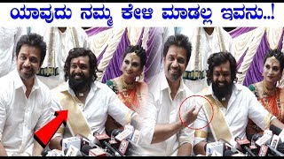 Arjuna Sarja Abour Dhruva Sarja || dhruva sarja and Prerana engagement