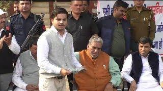 भाजपा के बड़े नेताओं को बाबरपुर की जनता के गुस्से का करना पड़ा सामना