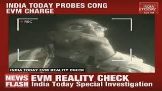 MP Congress election agents are caught on camera admitting that EVM conspiracy theory was fabricated