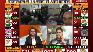 विधानसभा चुनाव के नतीजों की पल-पल की अपडेट ... | Rajasthan Election Update | IBA NEWS |