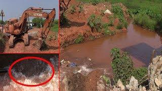 Pipeline Damaged During Road Widening; Taps Run Dry In St Cruz
