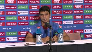 Australia v Afghanistan - Post Match Press Conference, Afghanistan Captain