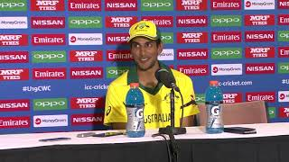 Australia v Afghanistan - Post Match Press Conference, Australia Captain