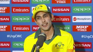 Australia Captain on Loss of ICC U19s Final
