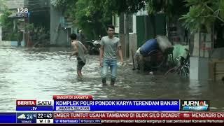Jakarta Hujan Siang Hingga Sore, Sejumlah Wilayah Kebanjiran