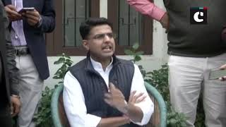 We're in touch with like-minded, anti-BJP parties: Sachin Pilot