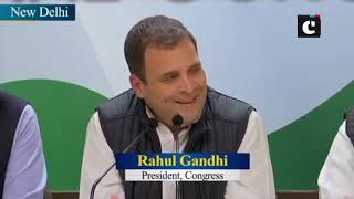 Issue of EVMs need to be addressed: Rahul Gandhi
