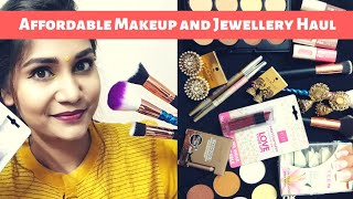 What's New in Affordable Affordable Makeup & Accessories Haul | Under Rs. 300 | Nidhi Katiyar