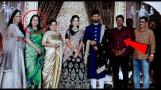 Puneeth Rajkumar Wife Ashwini Attend's Sumanth Shailendra And Anitha Wedding Reception | #Puneeth