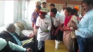 भाखड़ा ब्यास प्रबंधन बोर्ड के अध्यक्ष डीके शर्मा ने बीएसएल परियोजना सुंदरनगर का दौरा