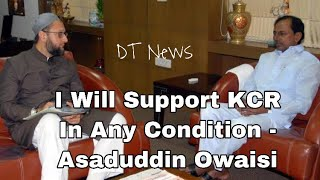 Asaduddin Owaisi | Meets KCR | Says TRS Will Sweep Polls | KCR Will Be The Next CM - DT News