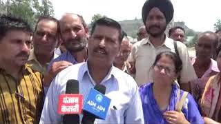 नूरपुर मे केन्द्र सरकार के खिलाफ हुईं जमकर नारेबाजी  5 दिन अनिश्चितकालीन हड़ताल