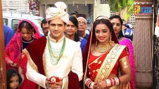 Yeh Rishta Kya Kehlata Hai Actress Parul Chauhan & Chirag Thakkar Wedding GRAND Entry