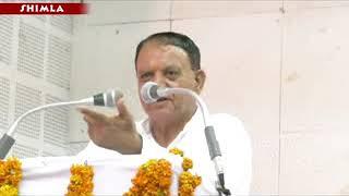 जल संकट से निपटने केलिए आइ्रपीएच मंत्री महेन्द्र सिंह ने जनता से सांझा तौर पर काम  करने की अपील