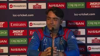 Post Match Press Conference - Rashid Khan - 4 March 2018