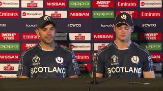 Post Match Press Conference - Kyle Coetzer and Tom Sole - 6 March 2018