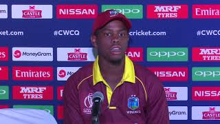 Post Match Press Conference - Shimron Hetmyer - 6 March 2018