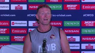 Post Match Press Conference - UAE coach Dougie Brown - 6 March 2018