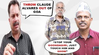 AAP Lashes Out At Nilesh Cabral For His Comments On Claude