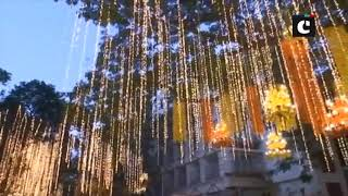 Mukesh Ambani's residence 'Antilla' decked up for Isha-Anand nuptials