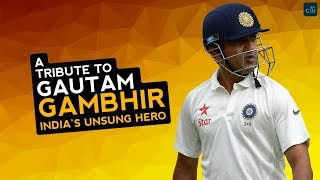 Gautam Gambhir Retirement - A Tribute to India's unsung hero (2018)