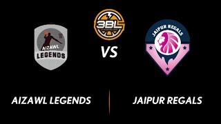 3BL Season 1 Round 4(Chennai) - Full Game - Day 2(QuarterFinal) - Aizwal Legends vs Jaipur Regals