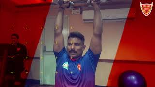 Gym session for the Eagles before U Mumba clash in Vizag