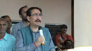 स्वास्थ्य एवं परिवार कल्याण मंत्री विपिन सिंह परमार ने भय भुंजनी गढ़ माता मंदिर में शीश नवाया