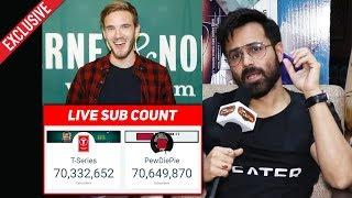 PewDiePie Vs T-Series   Emraan Hashmi Reaction On Subscriber Count